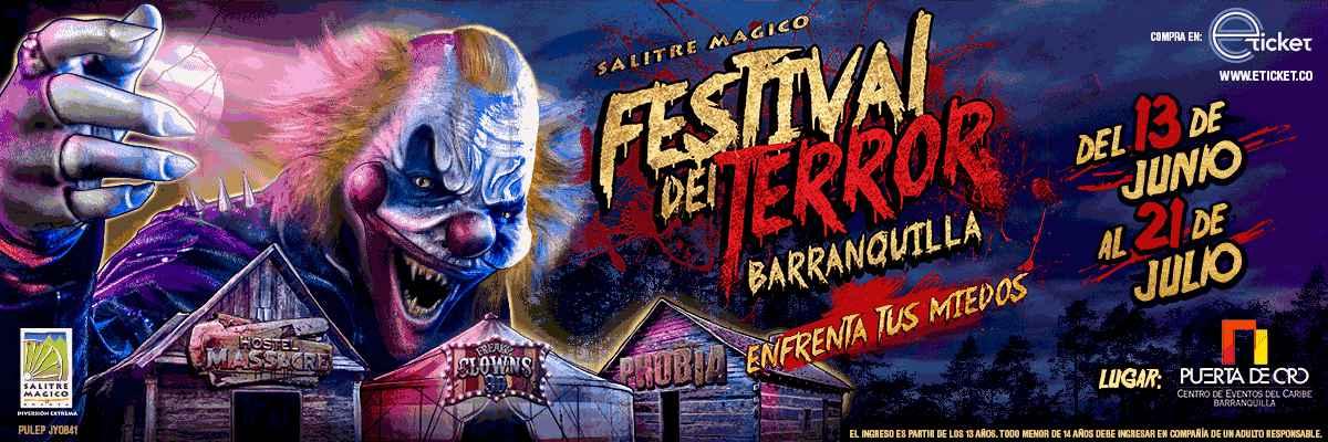 FESTIVAL DEL TERROR DE BARRANQUILLA