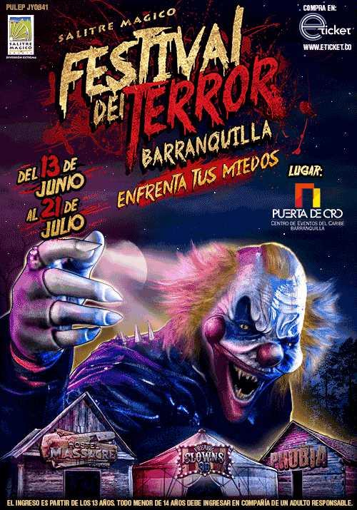 9f10bc07854f FESTIVAL DEL TERROR DE BARRANQUILLA : CENTRO DE EVENTOS DEL CARIBE ...