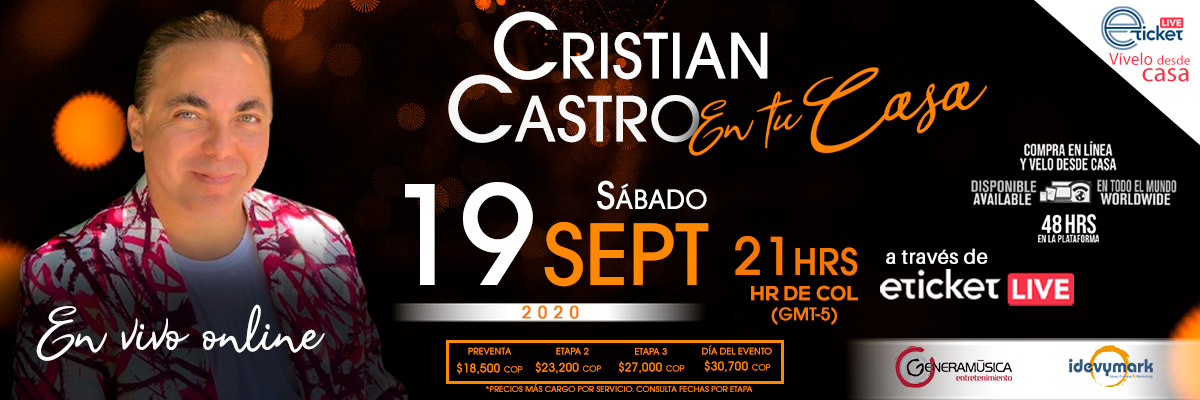 CRISTIAN CASTRO - EN CASA
