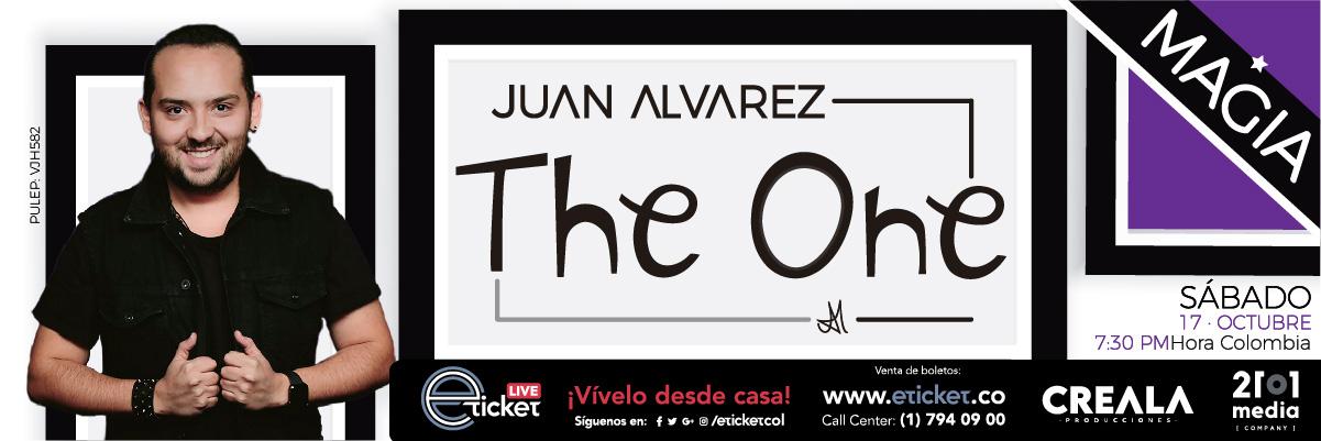 ASÓMBRATE CON JUAN ALVAREZ EN: THE ONE SHOW