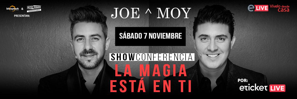 SHOW CONFERENCIA - LA MAGIA ESTÁ EN TI - DE JOE Y MOY