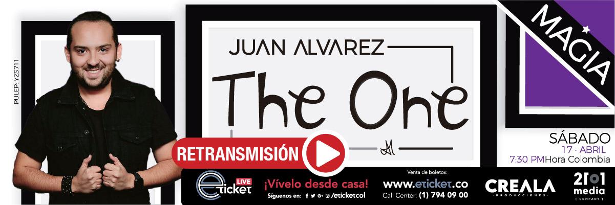 RETRANSMISIÓN JUAN ALVAREZ EN: THE ONE SHOW