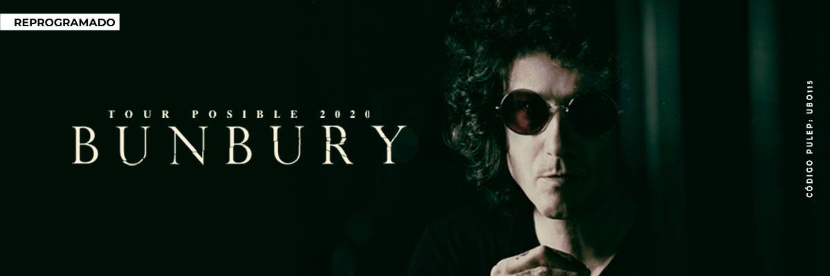 BUNBURY - TOUR POSIBLE 2020 -