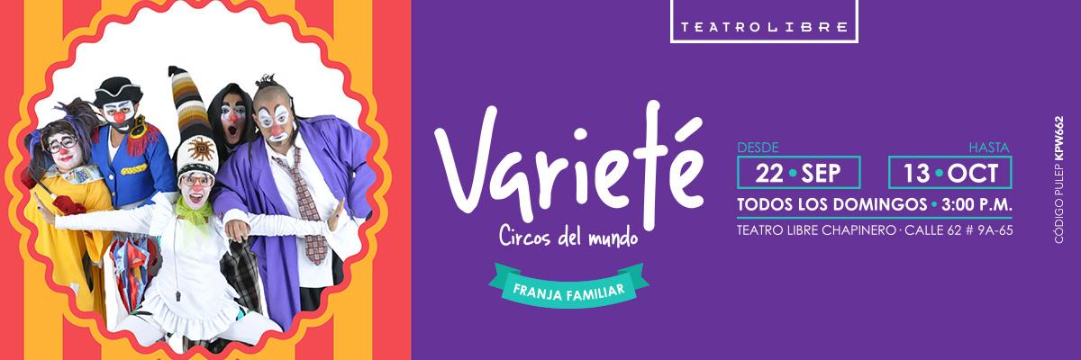 VARIETÉ CIRCOS DEL MUNDO